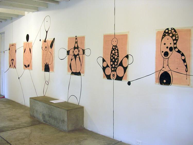 Vista da exposição Brasil Arte Actual, 2006