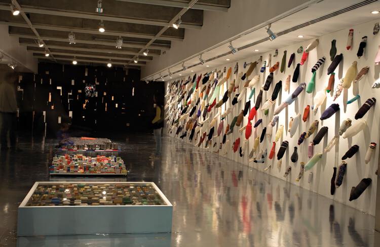 Vista da exposição The End Factory Plaza, 2012