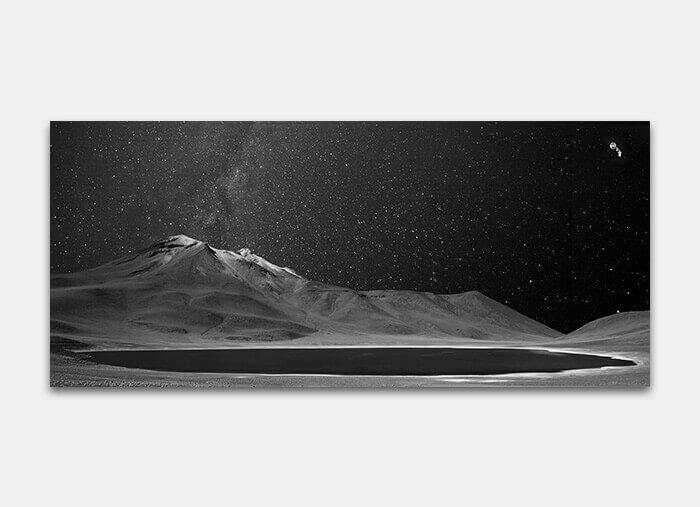 Via Láctea 3 com 1 objeto voador