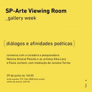 Diálogos e afinidades poéticas